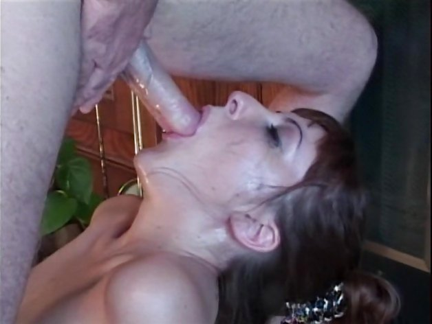 Gagging on a dirty dick